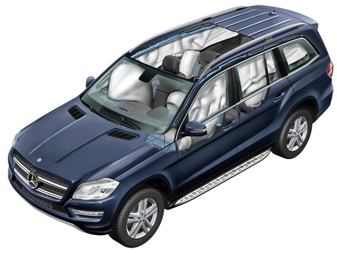 Техника Mercedes-Benz GL 500