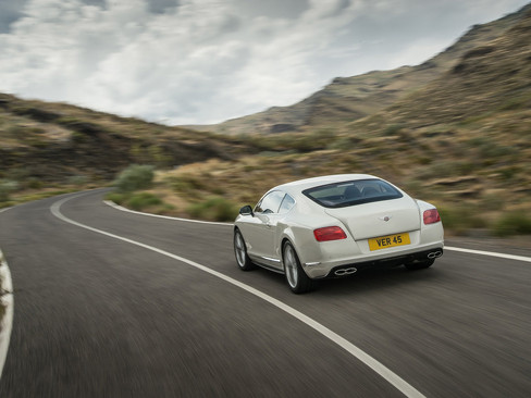 Купе Bentley Continental GT V8 S