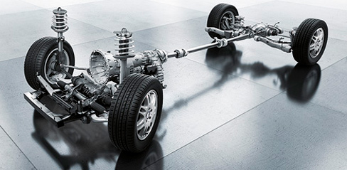 Mercedes-Benz Viano suspension