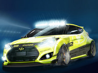 Hyundai Veloster Turbo Yellowcake