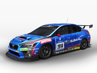 Subaru WRX STI racing car 2015