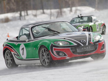 Mazda MX-5 Ice Race 2014