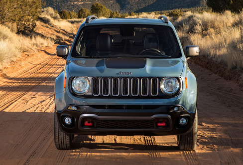 Тест-драйв Jeep Renegade