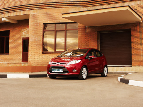 Ford Fiesta MkVII 2008г.