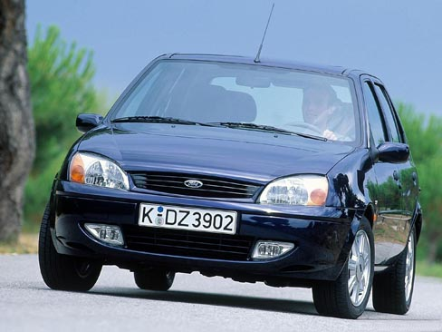 Ford Fiesta MkV. 1999 год