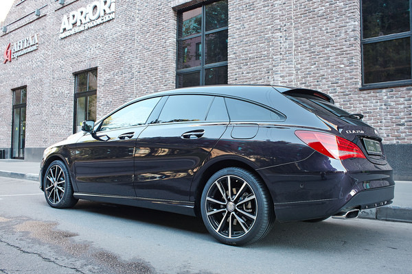 Тест-драйв Mercedes-Benz CLA Shooting Brake