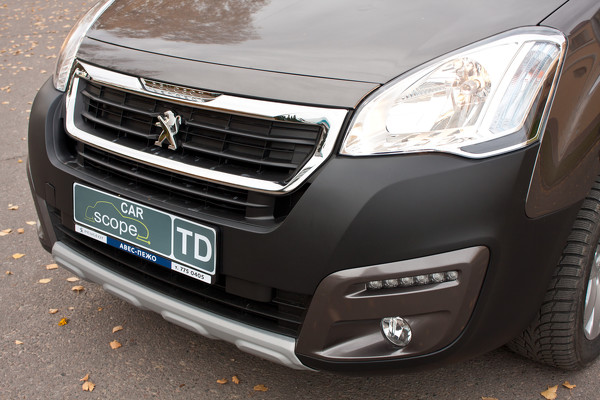 Тест-драйв Peugeot Partner Tepee Outdoor