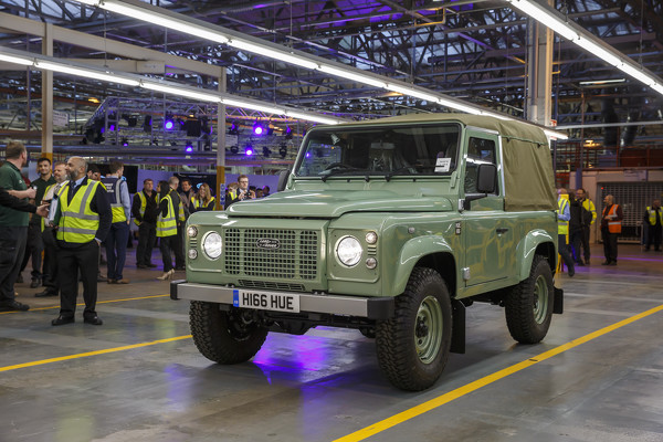 Последний Land Rover Defender