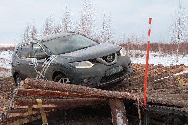 Квест-драйв Nissan X-Trail, Pathfinder и Patrol