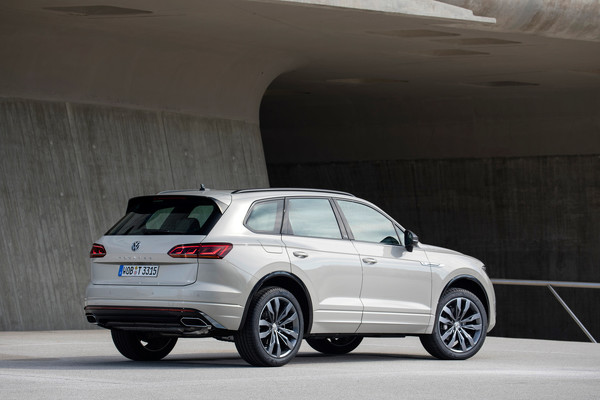Volkswagen Touareg One Million особая серия