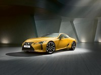 Lexus LC 500 Yellow Edition