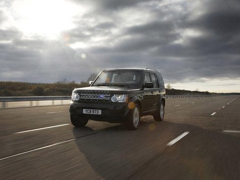 Land Rover Discovery 4 Armoured