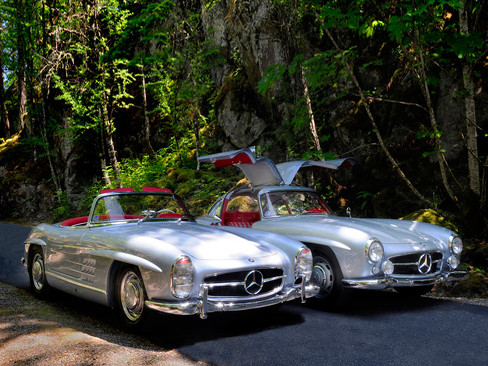 Mercedes 300 SL Gullwing и Roadster