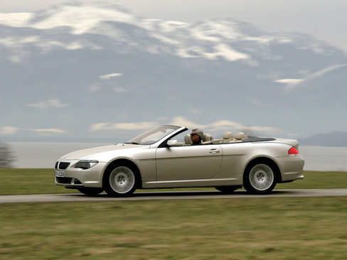 BMW 6 Series Convertible (Е64)