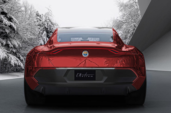Электрокар Fisker EMotion представят в третем месяце лета